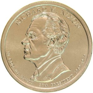 Richard M. Nixon Dollar Coin