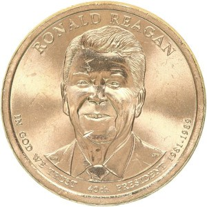 Ronald Reagan Dollar Coin