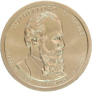 Rutherford B. Hayes Dollar Coin
