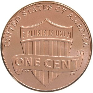Shield Penny Reverse