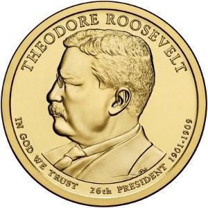 Theodore Roosevelt Dollar Coin
