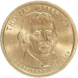 Thomas Jefferson Dollar Coin