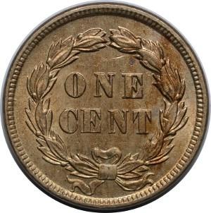 Type 1 Indian Head Penny Reverse