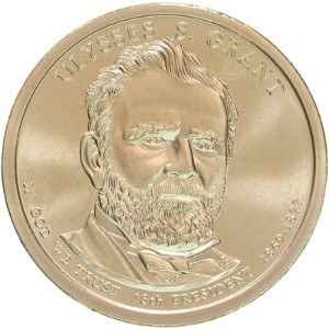 Ulysses S. Grant Dollar Coin