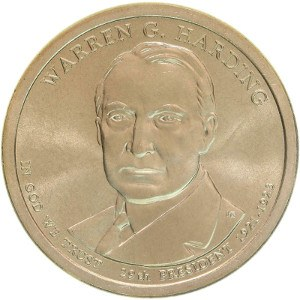 Warren G. Harding Dollar Coin