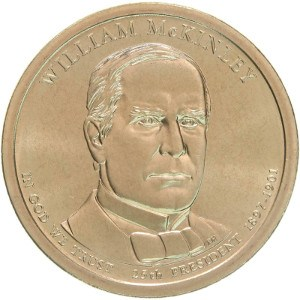 William McKinley Dollar Coin