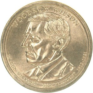 Woodrow Wilson Dollar Coin