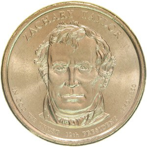 Zachary Taylor Dollar Coin