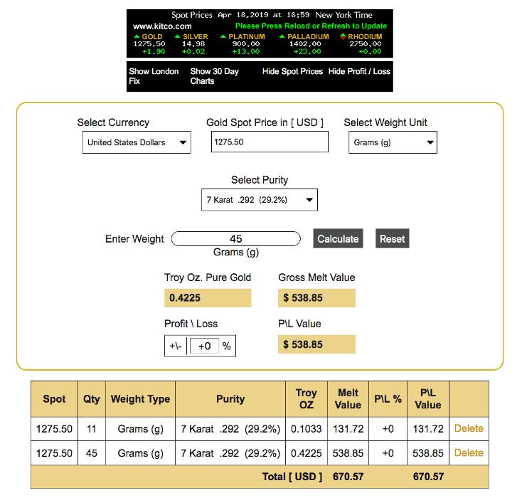 Modern Calc Screenshot